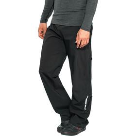 VAUDE Moab Spodnie przeciwdeszczowe Mężczyźni, czarny